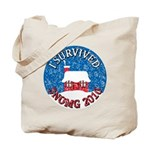 I Survived SNOMG 2010 Tote Bag