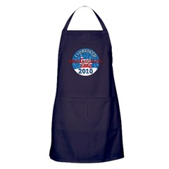 I Survived Snomaggedon Blizzard of 2010 Apron (dark)