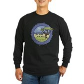 Linnaeus Quote Long Sleeve Dark T-Shirt
