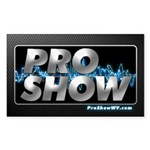 ProShow Logo Sticker (Rectangle 50 pk)