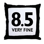 8.5 Very Fine Throw Pillow