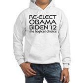 Logical Obama 2012 Hooded Sweatshirt