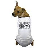Logical Obama 2012 Dog T-Shirt