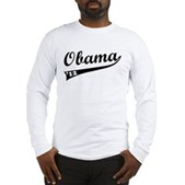 Obama 2012 Swish Long Sleeve T-Shirt