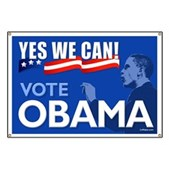 Yes We Can - Vote Obama Banner