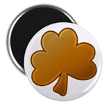 Orange Shamrock Magnet