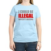 Could Be Illegal Anti-AZ Women's Light T-Shirt