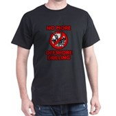No More Offshore Drilling Dark T-Shirt