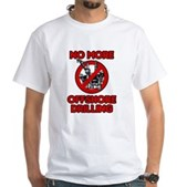 No More Offshore Drilling White T-Shirt
