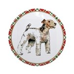 Wire Fox Terrier Ornaments