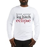 Tent Scene, Leg Hitch, Eclipse Long Sleeve T-Shirt