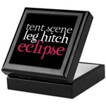 Tent Scene, Leg Hitch, Eclipse Keepsake Box