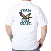 Team Gulf Coast Pelican Golf Shirt