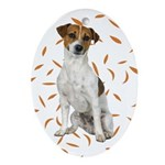 Autumn Jack Russell Terrier Ornament
