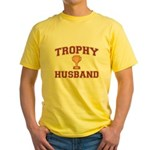 Trophy Husband Yellow T-Shirt