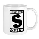 Content Rated S: Scrubs Fan Mug