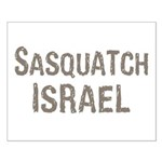 Sasquatch Israel!! Small Poster