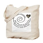 Love Courage Commitment Camo Tote Bag