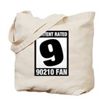 Content Rated 9: 90210 Fan Tote Bag