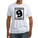 Content Rated 9: 90210 Fan Fitted T-Shirt