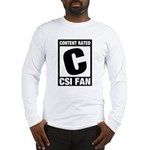 Content Rated C: CSI Fan Long Sleeve T-Shirt