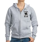 Content Rated N: Numb3rs Fan Women's Zip Hoodie