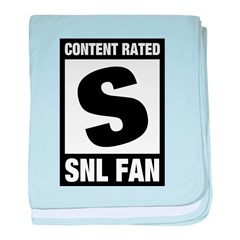 Content Rated S: SNL Fan baby blanket