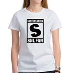 Content Rated S: SNL Fan Women's T-Shirt