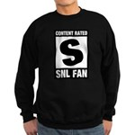 Content Rated S: SNL Fan Sweatshirt (dark)