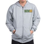 CSI Made of Elements Zip Hoodie
