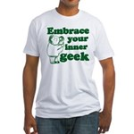 Embrace Your Inner Geek Fitted T-Shirt