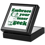 Embrace Your Inner Geek Keepsake Box