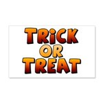 Trick or Treat 22x14 Wall Peel