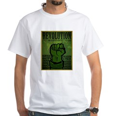 Middle East Revolution 2011 T White T-Shirt