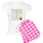 Shakespeare Insults T-shirts & Gifts Women's Light Pajamas