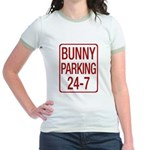 Bunny Parking Jr. Ringer T-Shirt