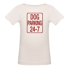 Dog Parking Organic Baby T-Shirt