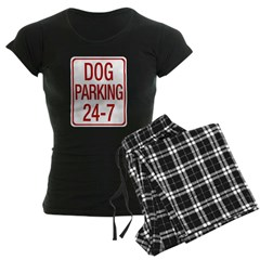 Dog Parking Women's Dark Pajamas