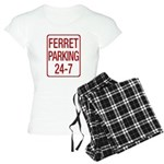 Ferret Parking Women's Light Pajamas