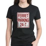 Ferret Parking Women's Dark T-Shirt
