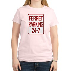 Ferret Parking Women's Light T-Shirt