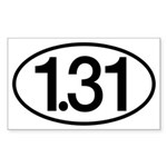 1.31 Sticker (Rectangle)