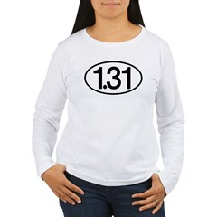 1.31 Women's Long Sleeve T-Shirt