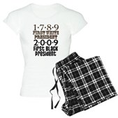 Presidential Firsts Women's Light Pajamas