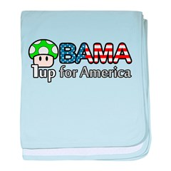 Obama 1up for America baby blanket