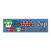 2up for America 21x7 Wall Peel