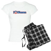I Love Obama Women's Light Pajamas