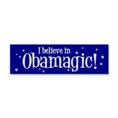 I Believe in Obamagic Car Magnet 10 x 3
