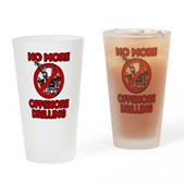 No More Offshore Drilling Pint Glass