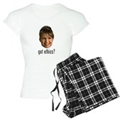 Anti-Palin Got Ethics? Women's Light Pajamas